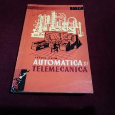 SERGIU CALIN - AUTOMATICA SI TELEMECANICA
