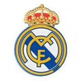 Autocolant emblema Real Madrid 40x55mm ManiaMall Cars