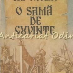 O Sama De Cuvinte - Ion Neculce