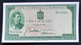 Carol II.....500 lei 1934......aUNC.....filigran Traian