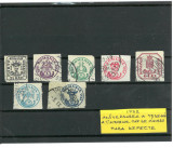 1932 - ANIVERSAREA A 75 ANI A TIMBRELOR CAP DE BOUR, Stampilat