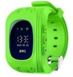 Ceas Smartwatch copii GPS Tracker iUni Q50, Telefon incorporat, Apel SOS, Verde