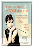 Placa metalica - Breakfast at Tiffany