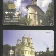 Romania 2003 Telephone card Monasteries Rom 192a CT.038