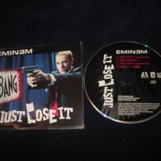 Eminem - Just Lose It _ maxi cd _ interscope ( Europa , 2004 )