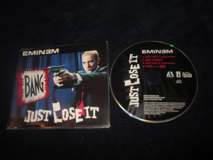 Eminem - Just Lose It _ maxi cd _ interscope ( Europa , 2004 )