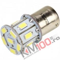 Bec LED BA15S 13 SMD 5730 12V ALBA COD: PT156
