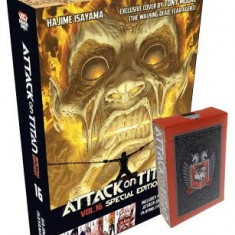 Attack on Titan 16 [With Cards]