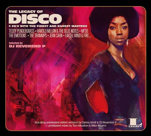 Various Artists The Legacy Of Disco (3cd)