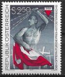 B2349 - Austria 1977 - Pt.victime neuzat,perfecta stare, Nestampilat