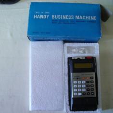Reportofon+calculator MTC-550 vintage