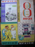 REVISTA URZICA - lot 10 numere - 1966