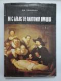 MIC ATLAS DE ANATOMIA OMULUI - DEM. THEODORESCU - ed. a 2a revizuita 1982
