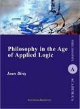 Philosophy in the Age of Applied Logic/Ioan Biris