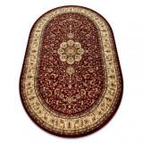 Covor Royal Adr oval model 521 vin roșu, 150x250 cm