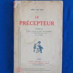 AIME VAN ROD - LE PERCEPTEUR , ILLUSTRE G. TOPPER , PARIS , 1923 , EROTICA