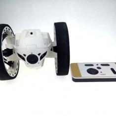 Masina de jucarie Jumping Sumo cu telecomanda, PEG, alb