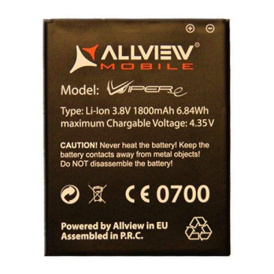 Baterie Acumulator Allview V1 Viper E Original 3.8V 1800 mAh 6.84 Wh foto