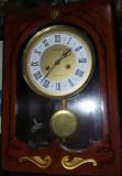 ceas vechi de perete,pendula veche de perete,stare exact cum se vede,T.GRATUIT