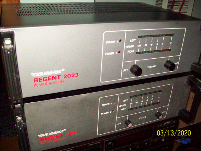Amplificator Audio Vermona Regent 2023 Import Germania