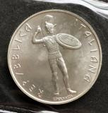 Italia 500 lire 1985 Etruschi   argint  UNC