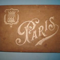 4668-Album gravuri vechi 1900-PARIS France- Pitoresque et Momumentale anii 1900.