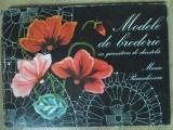 MODELE DE BRODERIE CU GARNITURI DE DANTELA (INCLUDE PLANSE) - MARIA PARASCHIVOIU