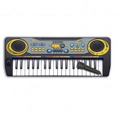 Orga pentru copii Bontempi, 37 clape, 4 x AA, 5 melodii, 8 sunete/ritmuri