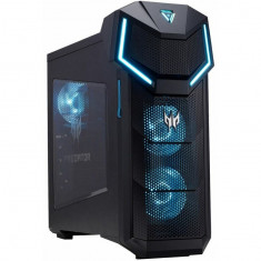 Sistem Gaming Desktop PC Acer Predator P05-610 cu procesor Intel® Core™ i7-8700K 3.70 GHz, Coffee Lake, 16GB, 2TB + 256GB SSD, NVIDIA GeForce GTX 1080