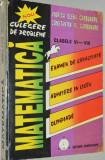 Culegere de probleme de matematica EXAMEN DE CAPACITATE , cl. VI -VIII - 1997