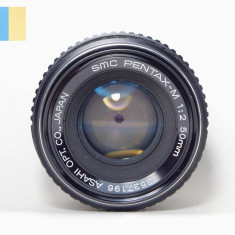 Obiectiv SMC Pentax-M f/2 50mm, Standard, Manual focus, Pentax - K