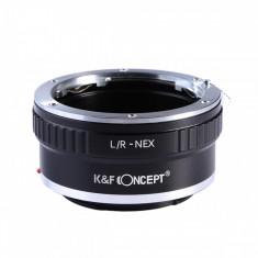 K&F Concept L/R-NEX adaptor montura Leica R la Sony E-Mount (NEX)