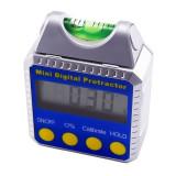 Înclinometru digital cu cutie oblică, nivelă, detector de un