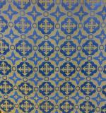 Material veșminte preoțești, albastru