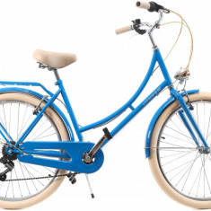 Bicicleta Dama Dhs Citadinne 2634 Albastru 26