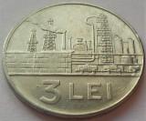 Moneda 3 LEI - RS ROMANIA, anul 1966 *cod 2880 B