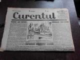 Ziarul Curentul , director Pamfil Seicaru , 18 mai nr.1899/1933