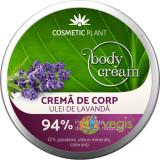 Body Crema pentru Corp cu Ulei de Lavanda 200ml, Cosmetic Plant