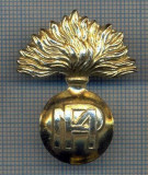 AX 46 INSIGNA MILITARA-SEMN ARMA POLITIA MILITARA ARMATE STREINE-PT.COLECTIONARI