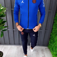 trening barbati PSG FC - Bluza si pantaloni conici - Model Nou jordan -