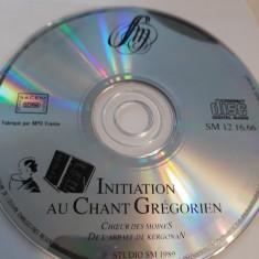 INITIATION AU CHANT GREGORIEN  -   CD