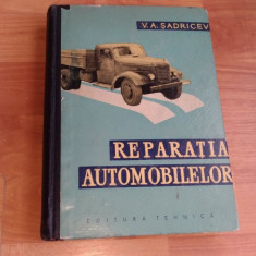 REPARATIA AUTOMOBILELOR-V. A. SADRICEV