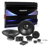 Auna CS Comp-12 difuzoare auto Hi-Fi set set   Amplificator 6 canale 570W RMS