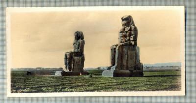 AD 592 C. P. VECHE - THEBES - COLOSSI OF MEMNON -EGYPT foto
