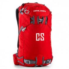 Capital Sports CS 38 Rucsac Sport Drumetii 30 litri nylon impermeabil rosu