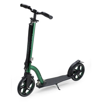 Trotineta Frenzy Scooter 215 Black/Green foto