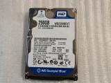 Hard disk Western Digital 250GB 5400RPM SATA 3.0 Gbps 2.5 8MB WD2500BEVT-00A23T0