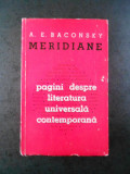 A. E. BACONSKY - MERIDIANE