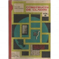 Constructii de cladiri vol. III - Spiru Haret, Mircea Angelescu