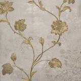 Cumpara ieftin Tapet clasic, model floral, gri, auriu, elegant, dormitor, living, Regalis, M7921